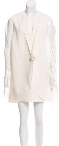 Dion Lee Wool Overlay Dress w/ Tags