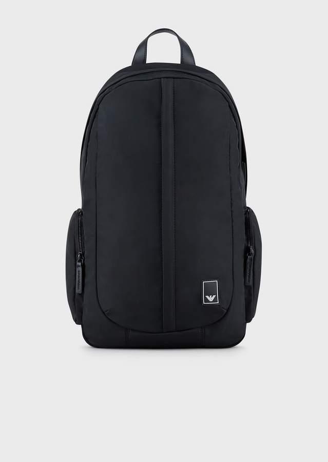 Emporio Armani Nylon Travel Essential Backpack