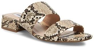 Steve Madden Jaron Flat Sandal (Natural Raffia) Women's Shoes