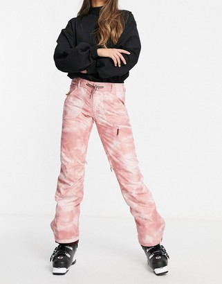 Roxy Nadia Printer ski pant in pink
