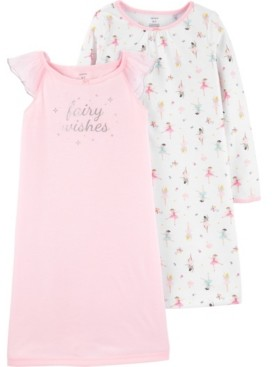 Carter's Toddler Girls 2-Pack Fairy Nightgowns