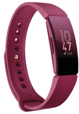 Fitbit Inspire Sangria Strap Activity Tracker 19.5mm