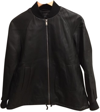 Cos \N Black Leather Leather Jacket for Women