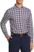Vineyard Vines Warm Ember Plaid Classic Fit Button-Down Shirt