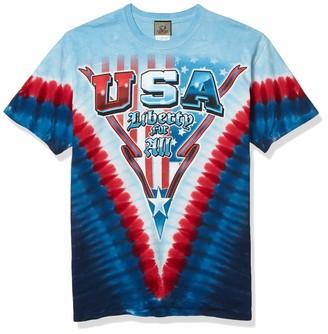 Liquid Blue Men's Liberty for All T-Shirt