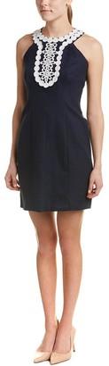 Taylor Dresses Women's Stretch Hopsak Halter Cut-Away