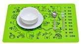 Kylin Express Waterproof Children Silicone Rectangular Antiskid Placemats Adiabatic Mat, G