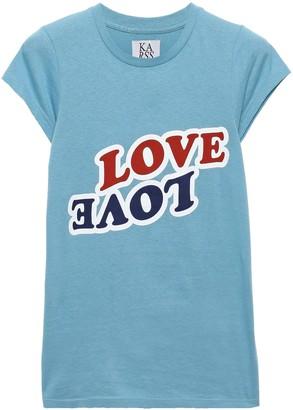 Zoe Karssen Love Love Printed Cotton-jersey T-shirt