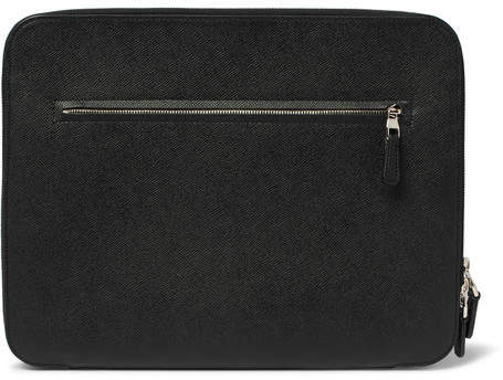Dunhill Cadogan Full-Grain Leather Zip-Around Pouch