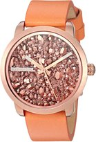 Diesel Women's DZ5552 Flare Rocks Orange Leather Watch