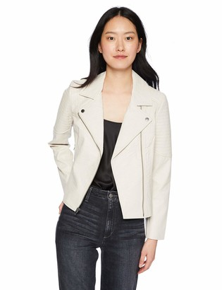 Cupcakes And Cashmere Women's Indra Textured Vegan Leather Jacket