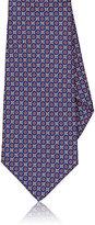 Kiton Men's Floral-Print Silk Necktie