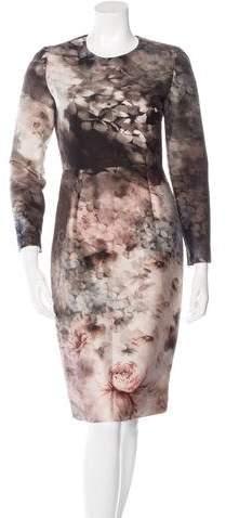 Valentino Secret Garden Sheath Dress