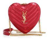 Saint Laurent Love Monogram Small Metallic Matelasse Leather Shoulder Bag