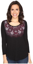 Lucky Brand Rug Mandala Top Women's Clothing