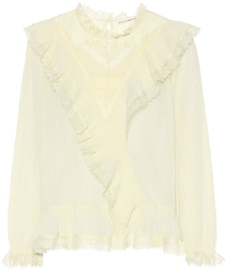 Ulla Johnson Bonnie cotton top
