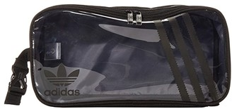 adidas Originals Clear 3-Stripes Shoe Bag (Black/Clear) Bags