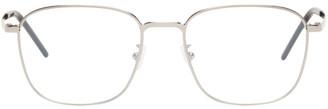Saint Laurent Silver SL 352 Slim Glasses