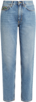 MiH Jeans Linda high-rise tapered boyfriend jeans