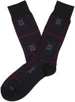 Perry Ellis Wineland Mercerized Cotton Sock