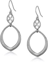 The Sak Double Teardrop Earrings