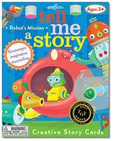 Eeboo Tell Me A Story- Little Robot's Adventure