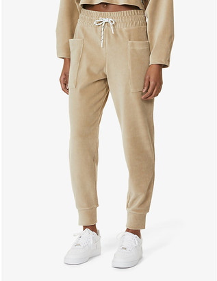 Michi Hygge tapered mid-rise jogging bottoms