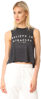 Spiritual Gangster Believe In Miracles Crop Tank