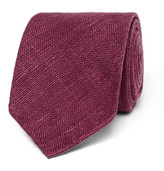 Drake's - 8cm Slub Silk Tie