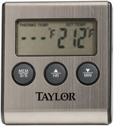 Taylor Digital Cooking Thermometer with Probe Plus Timer