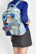 Marc Jacobs Patched Denim Backpack