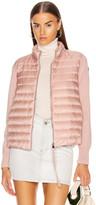 Moncler Cardigan Tricot Jacket in Blush | FWRD