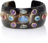 Ashley Pittman Ovu Horn Multi-Stone Cuff