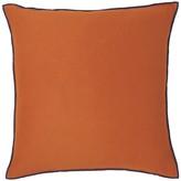 Dahlia cotton and linen cushion 60 x 60cm