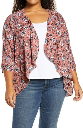 Bobeau Emily Waterfall Jacket