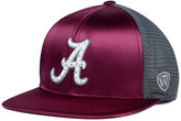 Top of the World Women's Alabama Crimson Tide Big Faux-Satin Snapback Cap
