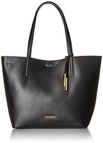 Calvin Klein Key Item Smooth Leather Tote