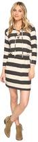 Culture Phit Mabel Tie-Up Long Sleeve Sweater Dress Women's Dress