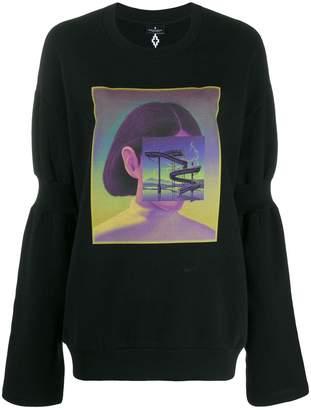 Marcelo Burlon County of Milan Carousel Square sweatshirt