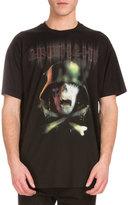 Givenchy Army Skull Logo-Print T-Shirt