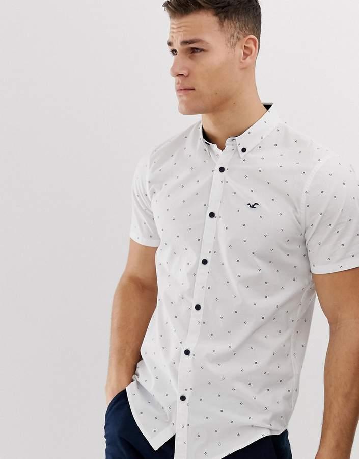 d3b0ecf37168 Hollister White Men's Shirts - ShopStyle