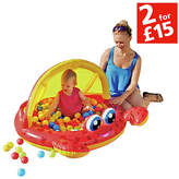 Chad Valley Crab Baby Pool and Ball Pit - 5ft