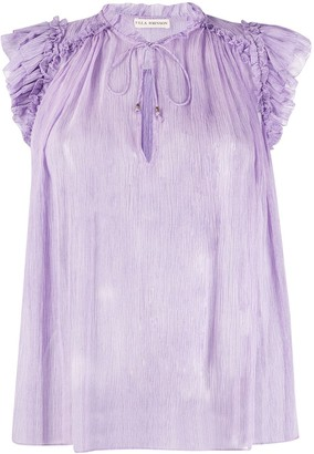 Ulla Johnson Clea crinkled blouse
