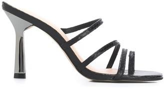 Carvela Goddess embossed sandals