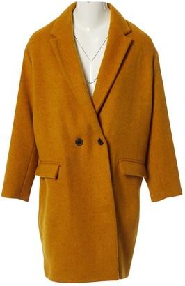 Isabel Marant Yellow Wool Coats
