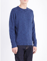 Tommy Hilfiger Crewneck cotton-jersey sweatshirt