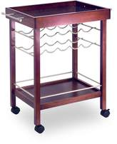 Winsome Wood Bar Cart, Espresso Finish