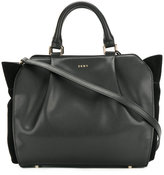 DKNY smooth pleated tote bag