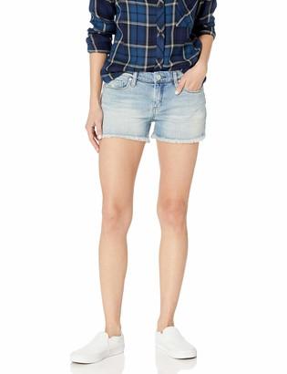 Blank NYC Women's Frayed Hem Shorts