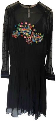 Preen Black Viscose Dresses